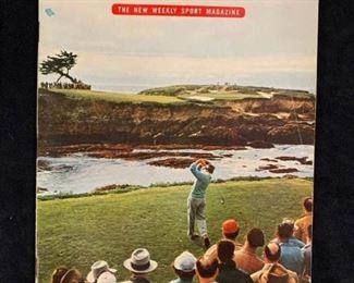 466jw 1954 Dummy Magazine Sports Illustrated