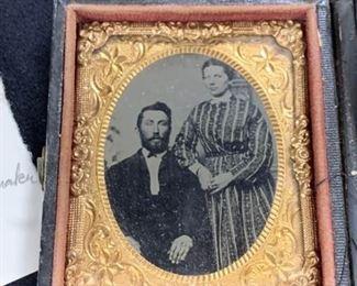 468jw William  Minerva Hartman Daguerreotype