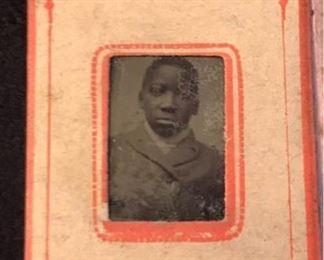 630jwRare African American Tintype