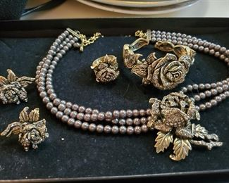 Oh yeah, you have got to see this woman's jewelry.  Priced to sell, but all beautiful