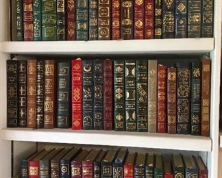 102 Signed First Editions - Leather Bound -