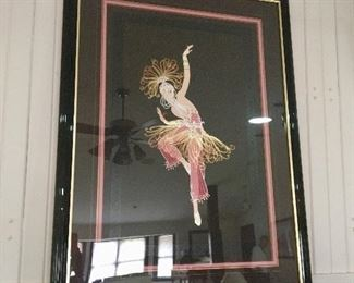 "Signed original Erte (Romain de Tirtoff) ""Firebird"" 119/130"