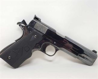 "135: Colt US Army 1911 .45cal Semi-Auto Pistol Serial Number: 448462 Barrel Length: 5"" Year: 1918  California Transfer Available. Ca and out of state shipping available to your local FFL. Buyer is responsible for checking local laws before bidding."