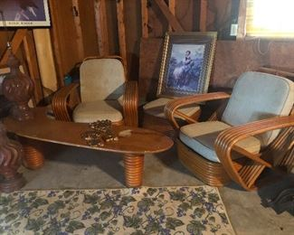 That boomerang table alone is beyond COOL! and RARE!
