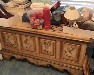 Beautiful cedar lined storage chest.