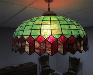 Lead Glass Hanging Light