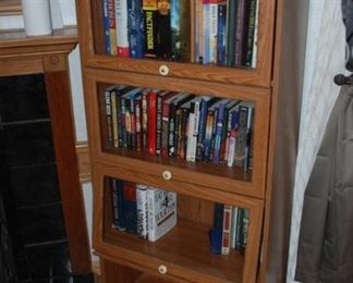 Barrister Shelf tons of books many on antiques and collectibles SOLD