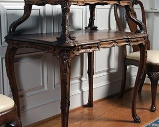 Louis XV carved dessert table