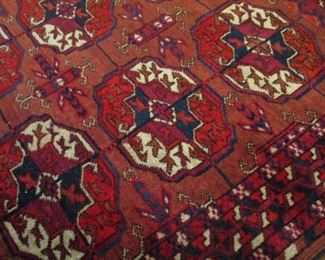 SEMI ANTIQUE RUG 3' BY 4'