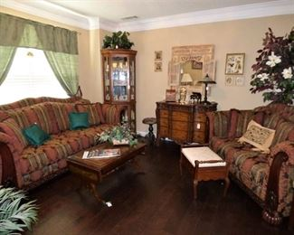 Sofa & Love Seat $395 for both.