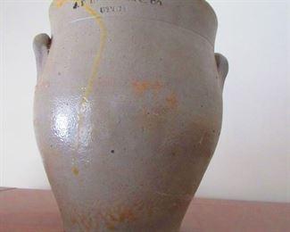 Antique Salt Glazed Crock