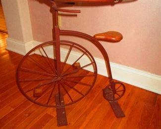 Penny-Farthing Bike Table