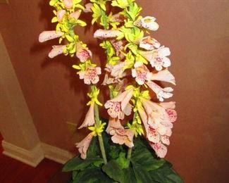 Faux Foxglove Flowers