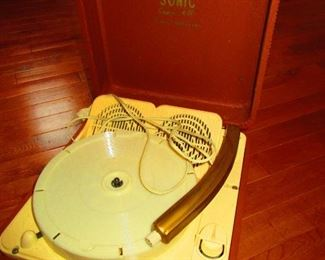 Sonic Suitcase Record Player