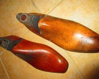 Antique Shoe Molds