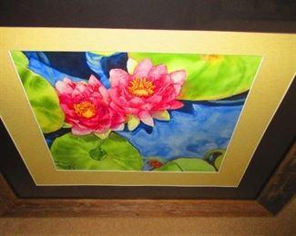 Lily Pad Watercolor