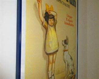 Framed Poster after The Antique