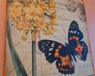 Decorative Botanical Plaque
