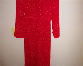 Open-back Polka Dot Dress