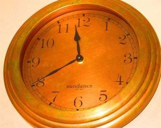 Sundance Wall Clock