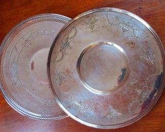Silvered Trays