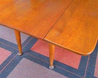 Drop Leaf Maple Table