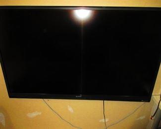 Flatscreen TV by Sharp