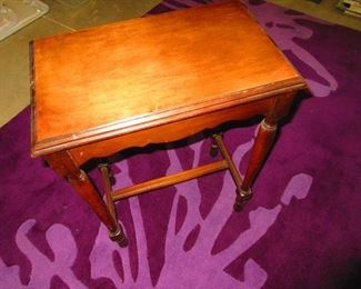Accent Table and Accent Finish