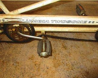Detail of Tandem Bike