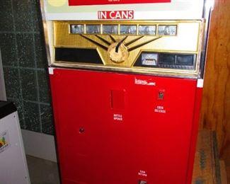 Antique Coca-Cola Vending Machine