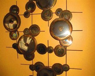 Oxidized Iron Wall Art