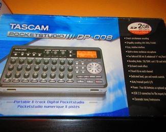 Tascam 8 Track Pocketstudio