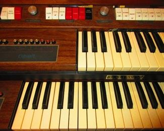 Detail of Baldwin Organ