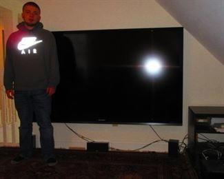 Large Flatscreen TV