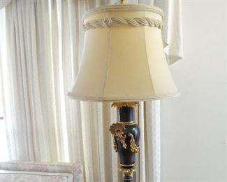 1940s black & gold light