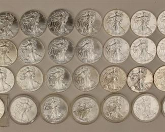 Loads of Silver Coins