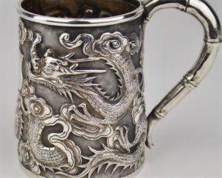 Chinese Silver Cup Wang Hing