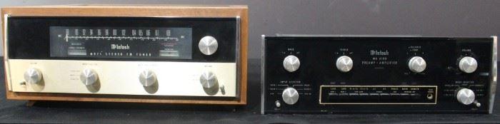 McIntosh Stereo Equipment