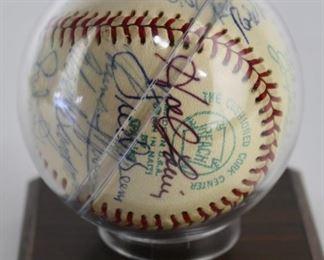 NY Yankees Signed Baseball 1973