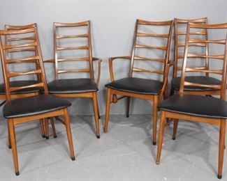 Johannes Andersen (Attri) Dining Chairs and Table