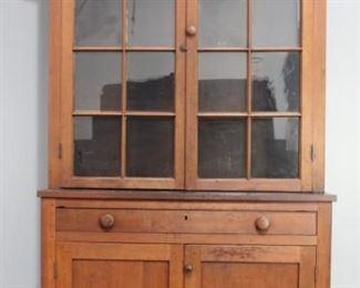 1870 NC Step-back Cupboard
