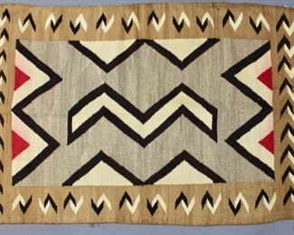 Southwest Native American Crystal Rug