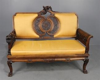 French Settee c. 1880