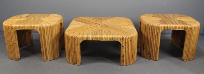 Split Bamboo Tables