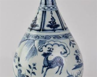 Chinese Late Ming Dynasty style vase
