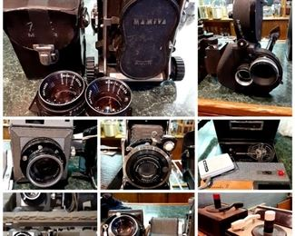 Vintage still & moving picture cameras & accessories