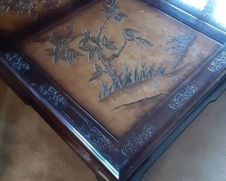 Beautifully detailed coffee table