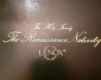 Complete set of Nativity by Lenox...new in box
