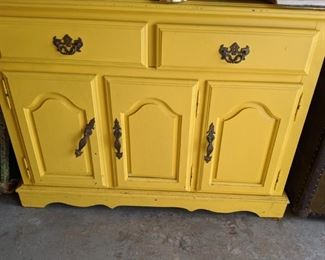 Vintage buffet to refinish or shabby chic