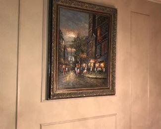 "Thomas Kinkade Print – Title: Sunrise – Print size: 24"" x 29"" – Frame size: 36"" x 40"""